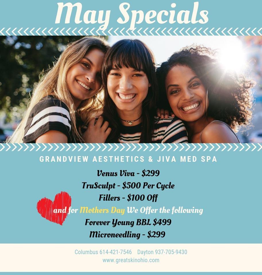 May 2019 Specials